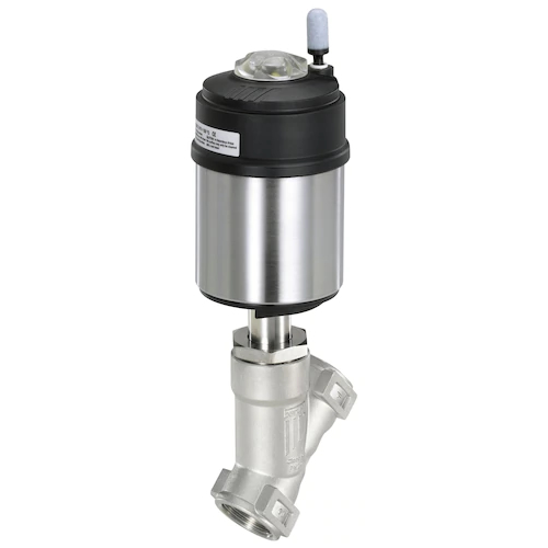 2100 PNEUMATICALLY OPERATED ANGLE SEAT VALVE