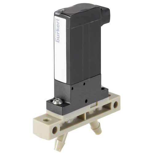 6624 TWIN POWER ROCKER SOLENOID VALVE WITH SEPERATING DIAPHRAGM