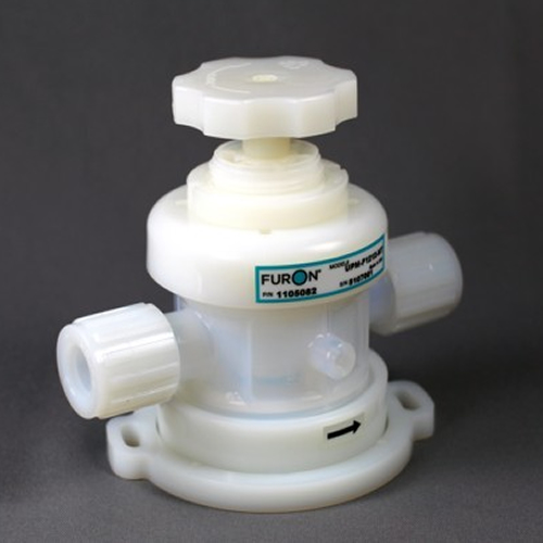 UPX2000 MANUALLY ACTUATED 2-WAY DIAPHRAGM VALVE