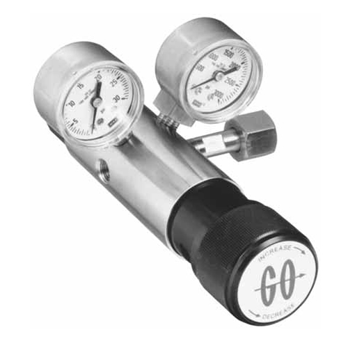 CC2 COMPACT TWO-STAGE CYLINDER REGULATOR