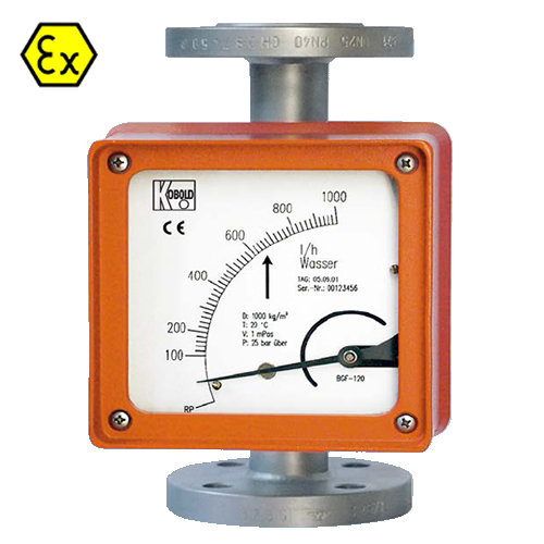 BGN VARIABLE AREA FLOWMETER