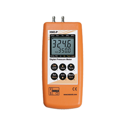 HND-123 DIFFERENTIAL PRESSURE HANDHELD UNIT
