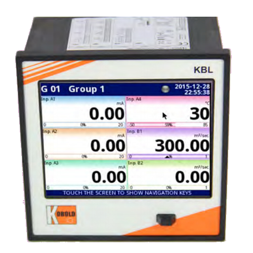 KBL ELECTRONIC MULTI-CHANNEL DATALOGGER