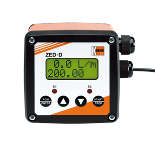 ZED METERING, MONITORING AND DOSAGE ELECTRONICS