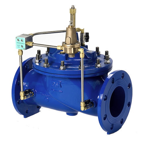 RP116 PILOT OPERATED HIGH FLOW BACK PRESSURE REGULATOR