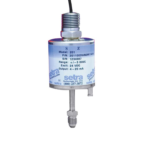 201 VERY LOW DIFFERENTIAL GAUGE PRESSURE TRANSDUCER