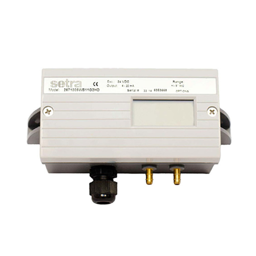 267 VERY LOW DIFFERENTIAL PRESSURE TRANSDUCER