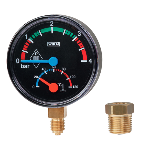THM10 THERMOMANOMETER FOR PRESSURE AND TEMPERATURE MEASUREMENT